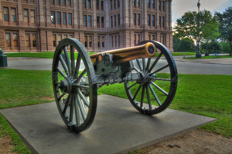 Texas State Capitol Canon<br /> <br /> This photo was taken on August 9, 2009.