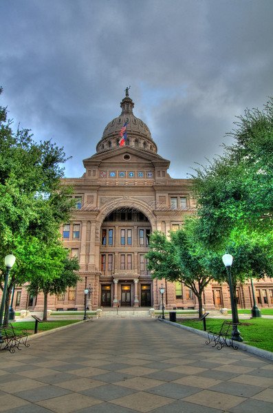 Texas State Capitol<br /> <br /> This photo was taken on August 9, 2009