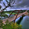 <b>Pennybacker Bridge</b>  This photo was taken on August 16, 2009 during sunrise.