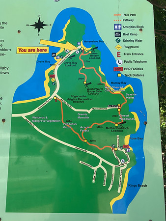 Cape Edgecumbe Walking Trail Map