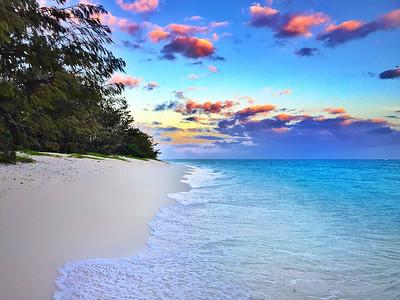 Sunrise on Heron Island