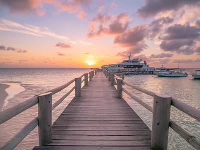Sunset at Heron Island
