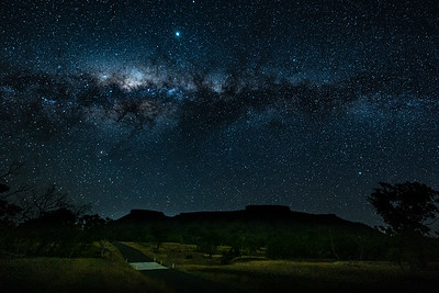 Milky Way over Lords Table Mountain