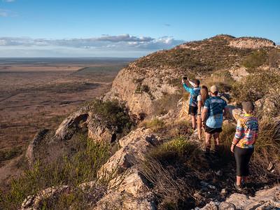 Hiking at the Gemini Peaks