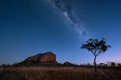 Milky Way over the Gemini Peaks