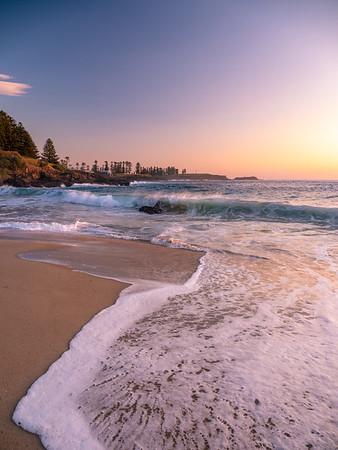 Sunrise at Kendalls Beach Kiama