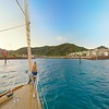 Sailing into Magnetic Island
