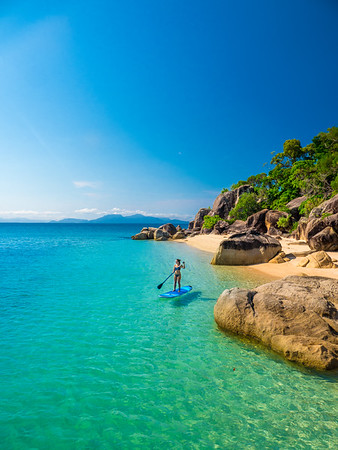 Stand up paddle boarding at Orpheus Island