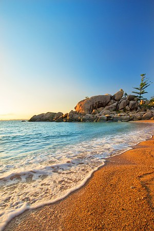 Sunrise over Magnetic Island