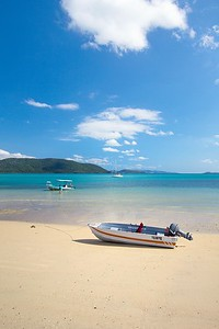 The most popular mode of transport in the Whitsundays is...