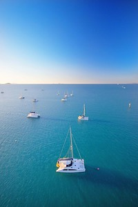 Yacht adventures in Airlie Beach