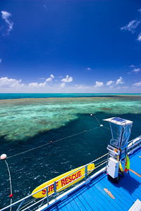 The Reef World Pontoon views