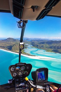 Helicopter views of Hill Inlet