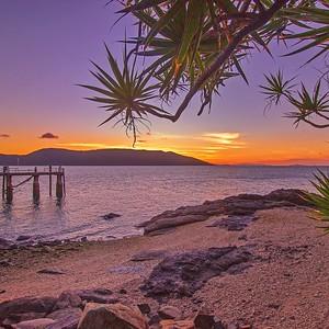 Sunset over Daydream Island 2