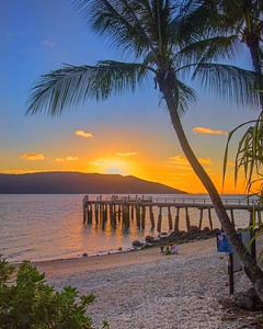 Sunset on Daydream Island