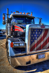 A Friend of Optimus Prime We all think we own the road, until we see one of these in our rear-view mirror. It's at this point you better hope this guy is a member of the Autobots and not the Decepticons. Either way, you better pull to the other lane and let this big rig pass.