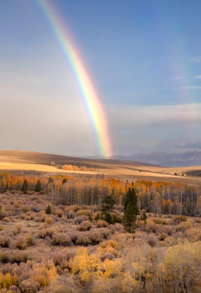 Faint Double Rainbow, Conway Summit