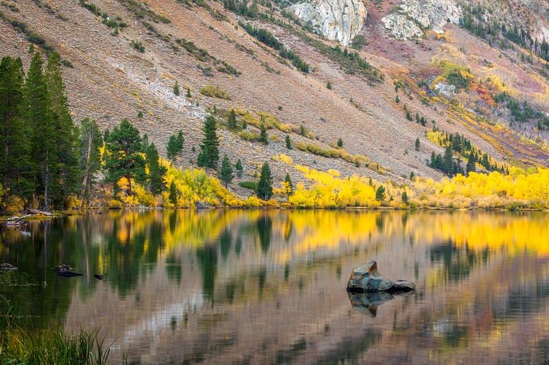 Parker Lake Autumn Reflections