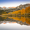 North Lake Autumn Reflection