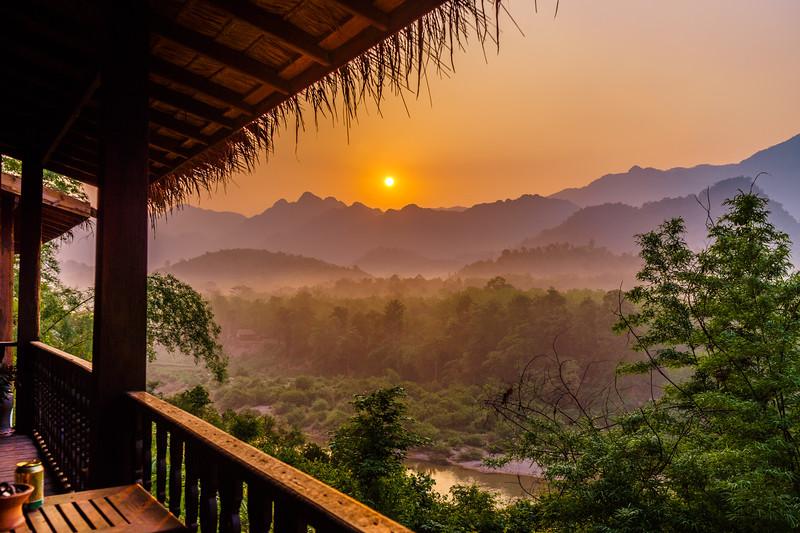 Sunrise Over the Jungle