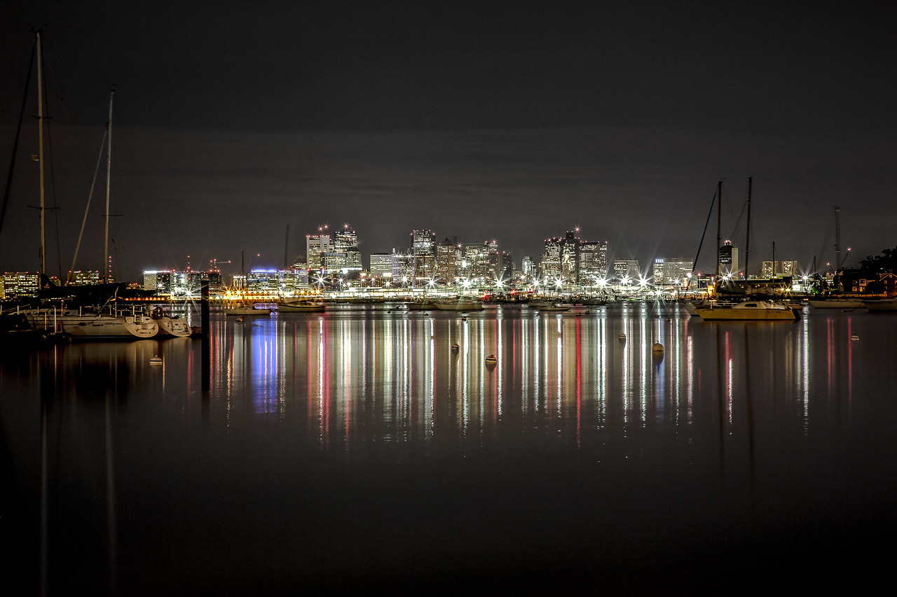 Reflections on Boston Harbor