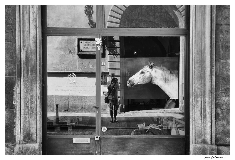 Self Portrait with a Horse