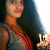 Ritika getting ready with her birthday cake for celebrations
