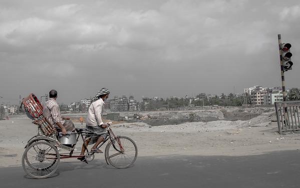 Rickshaw cycler