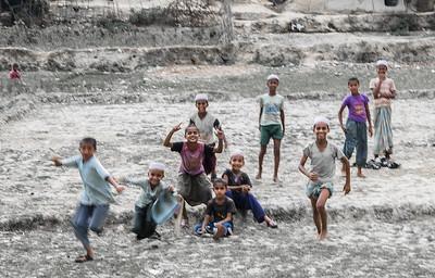 Rohingya kids, Teknaf