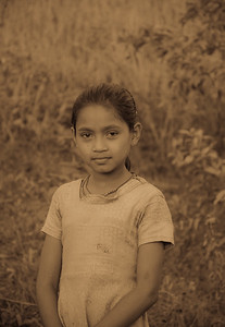 Young girl, Cox Bazar