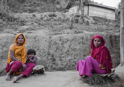 Local family, Cox Bazar