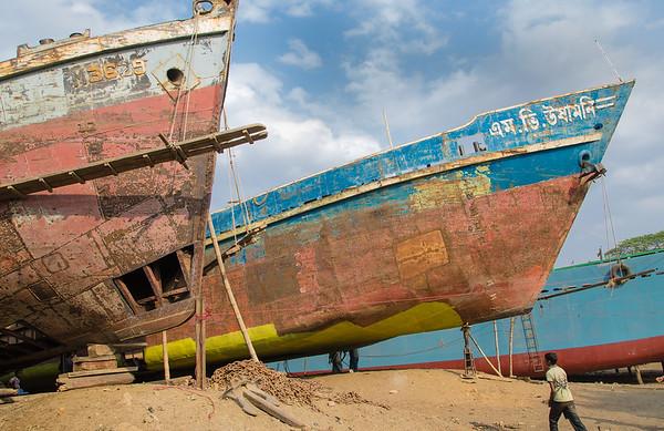 Dhaka shipyard