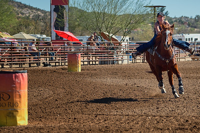 2/8/18 SY Barrel Racing