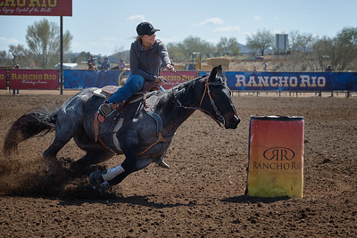 2/22/18 SY Barrel Racing