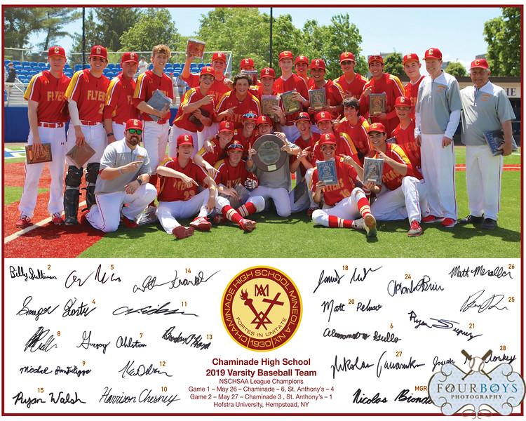 2019 Varsity Baseball 8x10