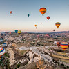 Hot-Air Balloons Over Goreme