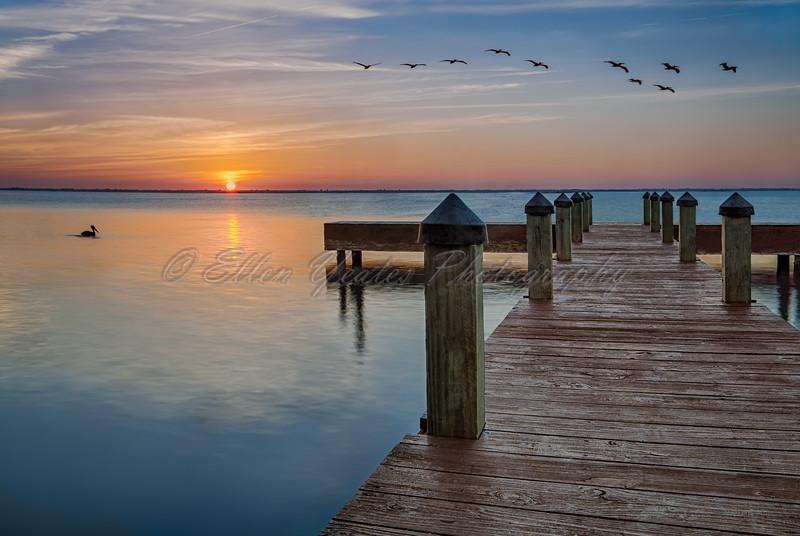 Corpus Christi Pier Sunset