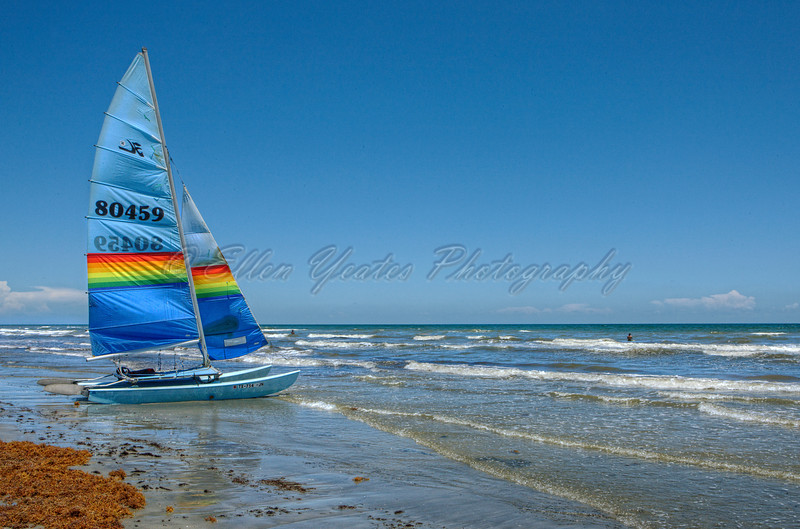 Sailboat at Jamaica Beach