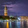 Lighting at Venice, Italy