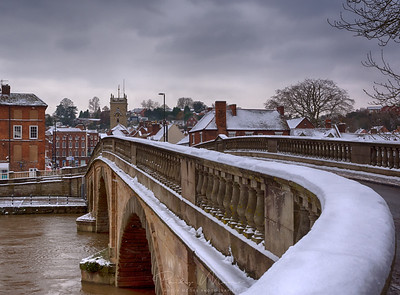 Snow on the Bridge