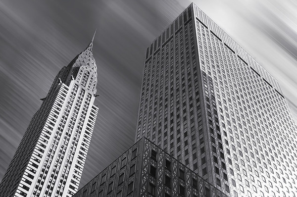 Chrysler Building (an Art Deco Style Architecture) based out of Midtown Manhattan, New York City