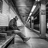 Alone At 5th Avenue (Subway), New York City
