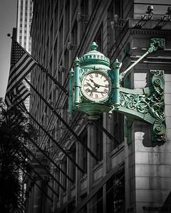 Marshall Fields Iconic Clock