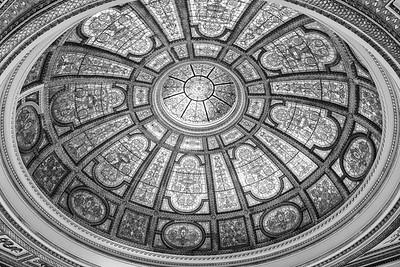 Chicago Cultural Center Tiffany dome