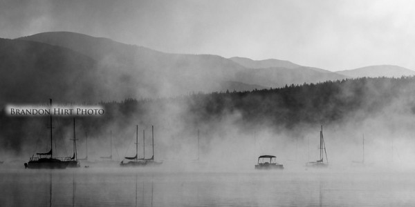Lake Dillon Fog