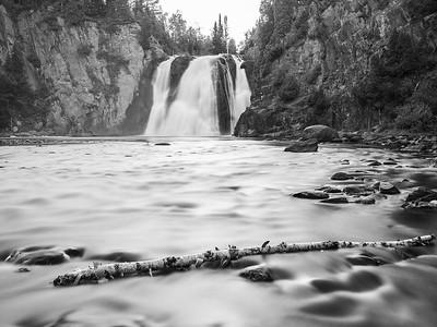 High Falls & Log