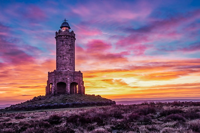 Sunrise at Darwen Tower