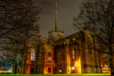Blackburn Cathedral at Night