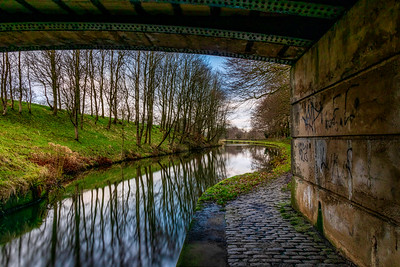 Leeds to Liverpool Canal - Taken near Finnington Bridge No 91B