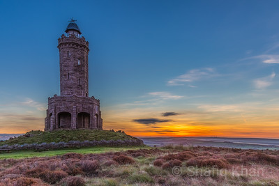 Sunrise at Darwen Tower (Jubliee Tower)
